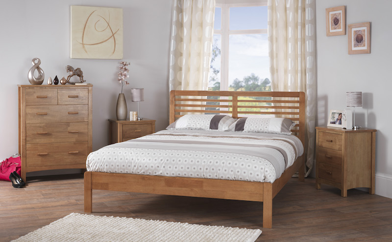 Oslo Hardwood King Bed