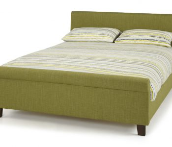 Charlotte Olive Fabric Bed Frame