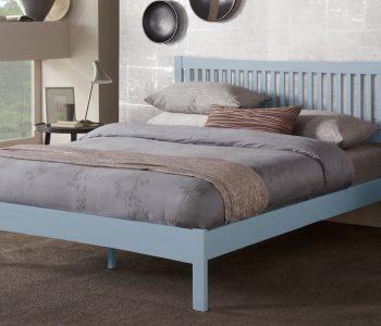 Edenbridge Grey Hevea Hardwood Bed Frame