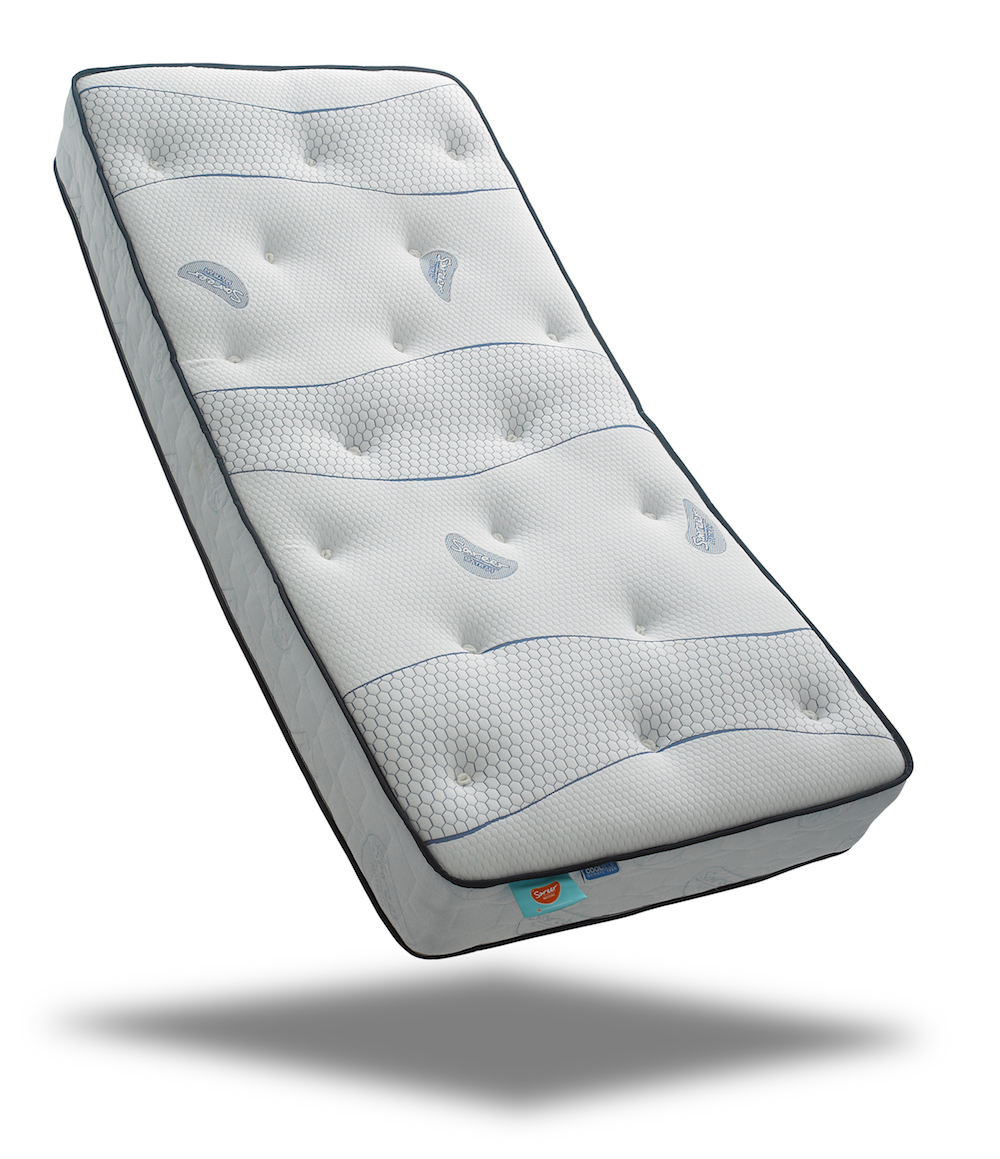 Coolblue Memory Foam Coil Sprung Mattress Sensation Sleep Beds And Mattresses