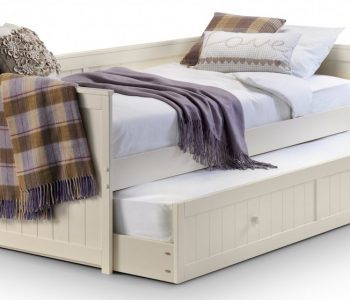Jersey Stone White Day Bed with Guest Bed