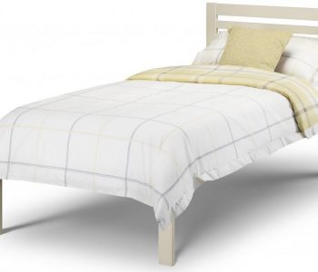 Galway Stone White Wooden Bed Frame