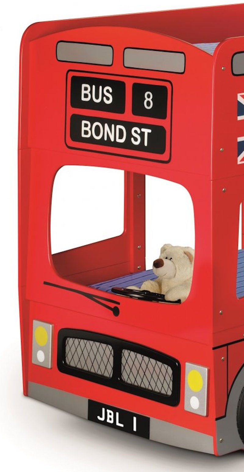 Red London Bond Street Bus Bunk Bed With Mattress Option Child S Bus Bed Ebay