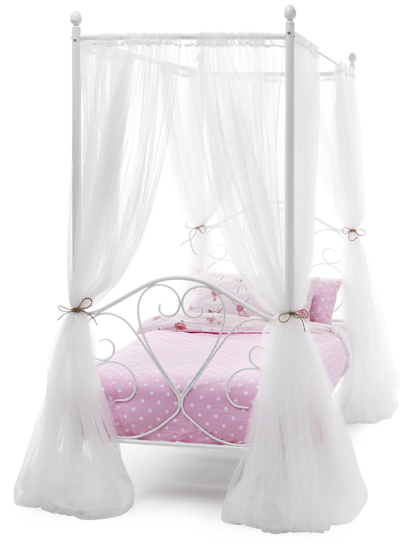 Dream 4 Poster Bed Frame Optional Drapes Sensation Sleep