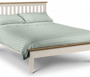 Siena Two Tone Wooden Bed Frame