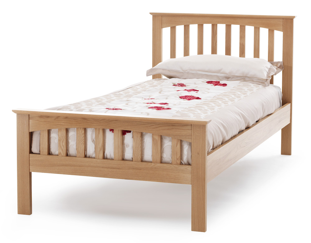 Chelsea Oak High End Bed Frame Sensation Sleep Beds And