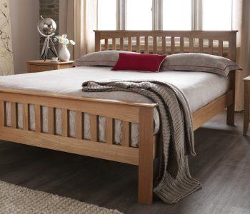 Chelsea Oak High End Bed Frame