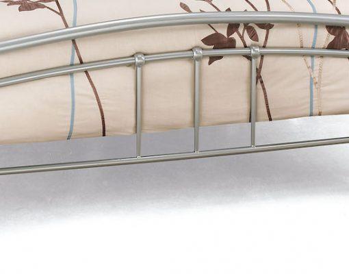 Shanghai Silver And Beech Bed Frame Sensation Sleep Beds