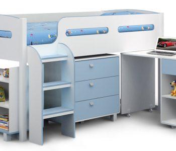Cabin Bed Blue