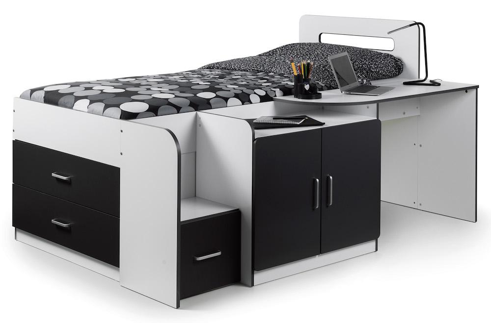 Woodstock Cabin Bed With Storage Sensation Sleep Beds