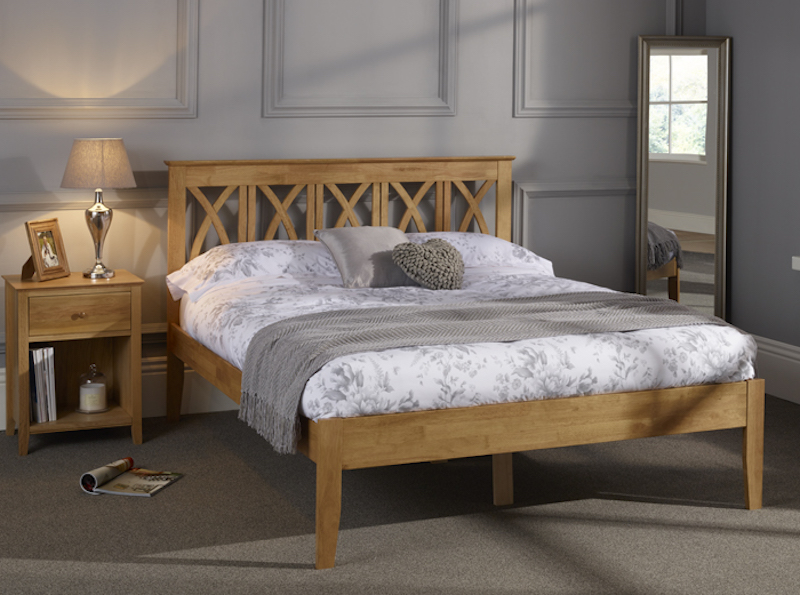 Blossom Hevea Hard Wood Bed Frame Sensation Sleep Beds