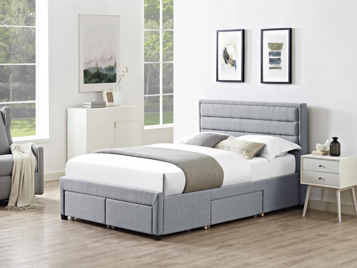King Bed With Storage Drawers